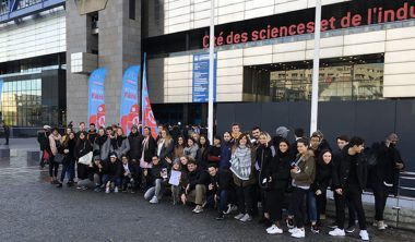 paris maker faire 2019 cite des sciences iim 380x222 - 70 étudiants de l'IIM testent le Do It Yourself au Maker Faire Paris 2019