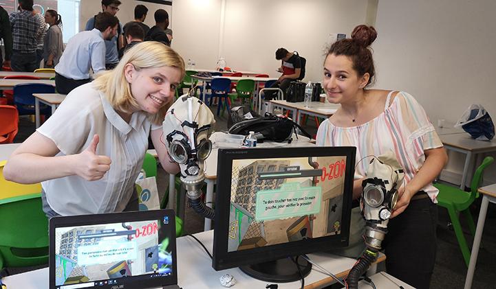 ozone iim gdc video games - O-Zone, le jeu développé par une team d'étudiants IIM, sélectionné pour l'exposition alt.ctrl.GDC 2020