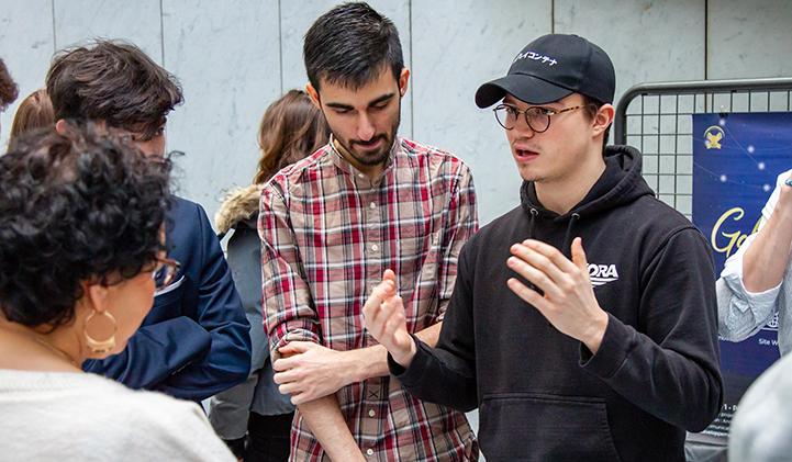 iim showroom pitch bourse aux projets - Showroom 2020 : les étudiants de l'IIM exposent le fruit de 6 mois de travail transverse