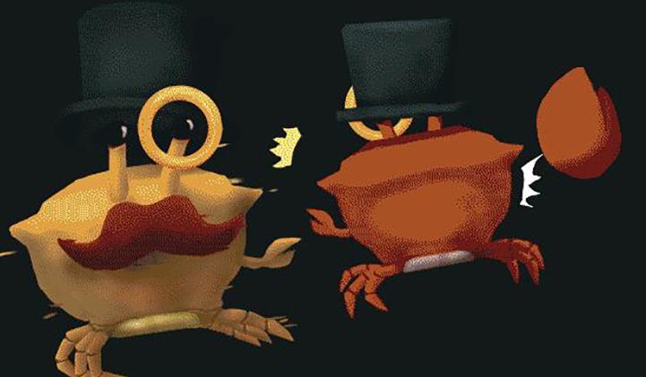 fency krabby iim - Fency Krabby, le party game pour crabes gentlemen