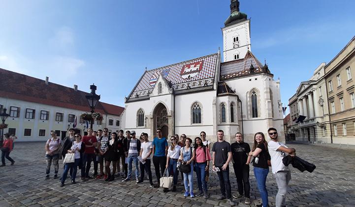 iim echange universitaire croatie - Vivien, promo 2022, en échange universitaire à l'Algebra University College en Croatie
