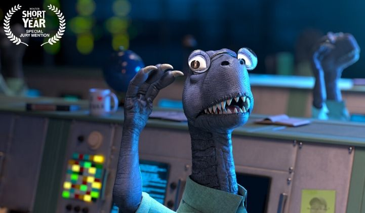 dinosaurs the true story iim court metrage 3d animation - Dinosaurs : The True Story, le court-métrage réalisé par des étudiants de l'IIM, à la conquête des awards