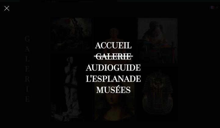 devlab musee du louvre developpement web front - Projet DevLab : progresser en développement front en faisant un site fictif sur le musée du Louvre