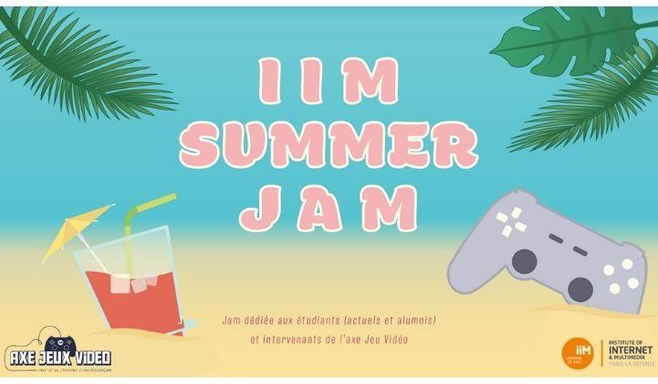 iim summer jam manon vincent - IIM Summer Jam : l'axe Jeux Vidéo au taquet même pendant les vacances