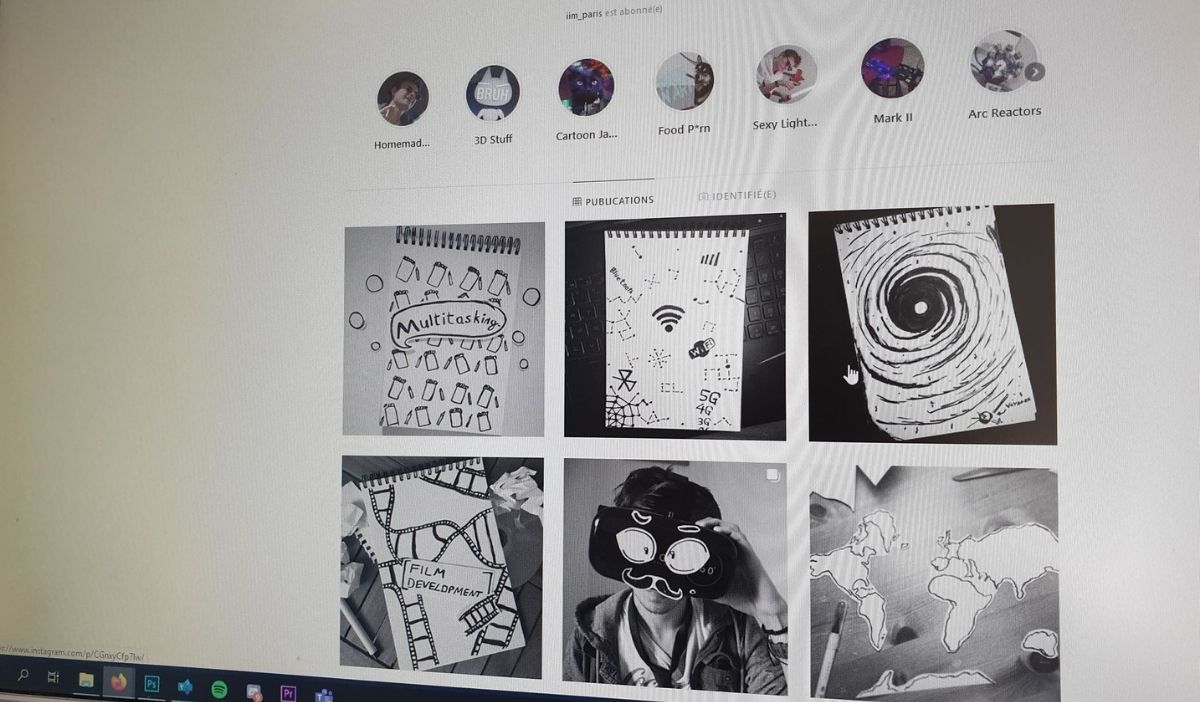 4 instagram iim creation design animation 3d make up - 4 comptes Instagram inspirants des étudiants artistes de l'IIM à suivre absolument