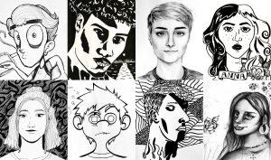 autoportraits iim creation design 300x177 - Mastère Direction artistique