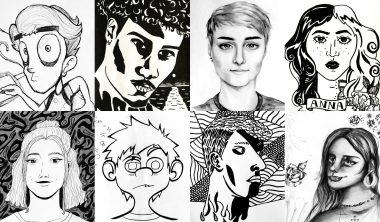 autoportraits iim creation design 380x222 - Programme de la journée d'intégration de l'axe Création & Design