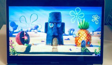 bob eponge en eaux troubles 380x222 - 4 alumnis de l'axe Animation 3D au générique du nouveau film d'animation Bob l'Éponge