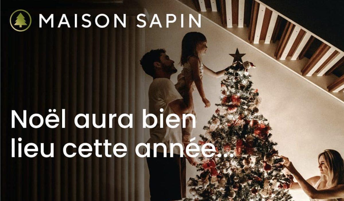 maison sapin - MaisonSapin, une boutique de sapins de Noël en ligne créée par deux alumni de l'IIM