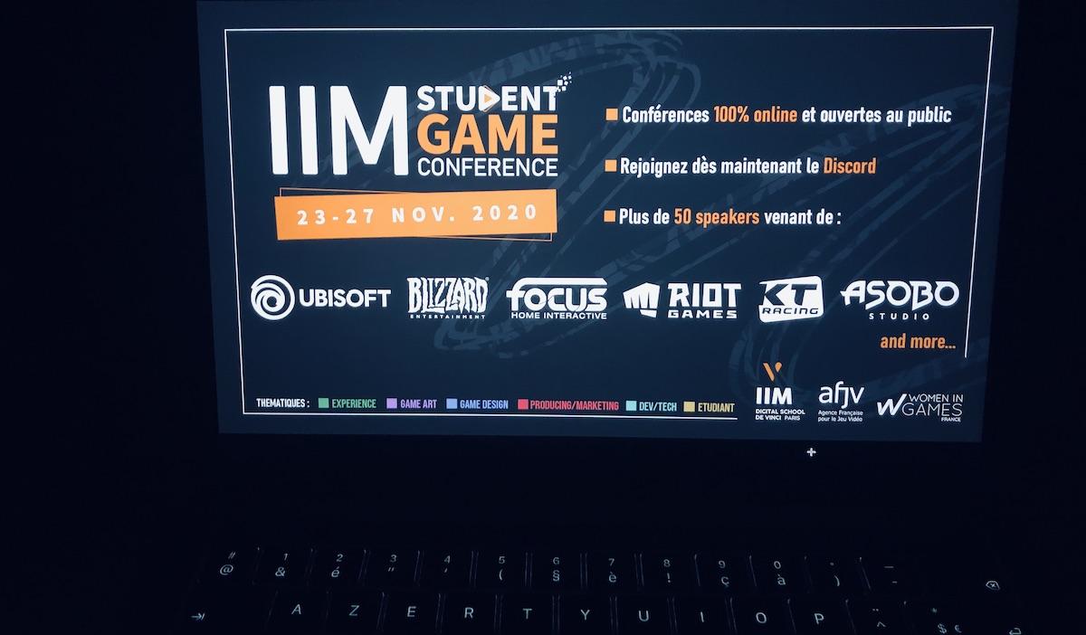 iim student game conf - Women In Games au centre de la première édition de l'IIM Student Game Conference