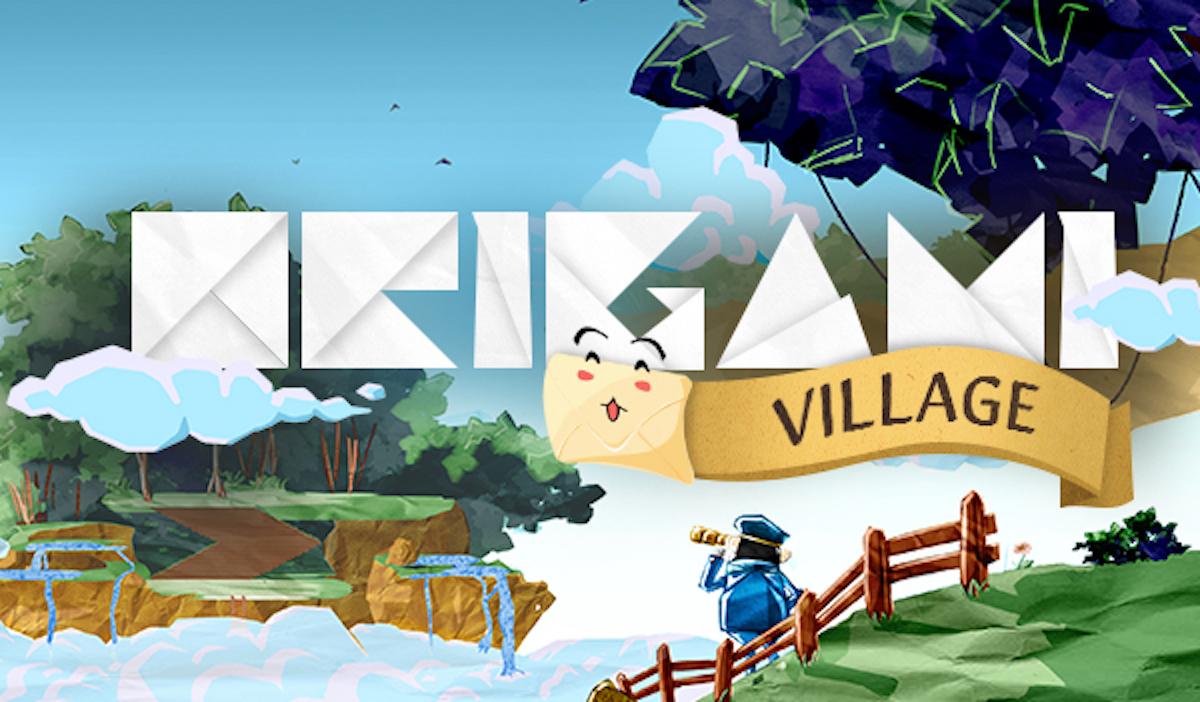 origami village jeu video - 5 jeux vidéo de la promo 2021 de l'IIM à découvrir sur Itch.io