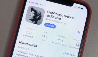 clubhouse 380x222 - Le nouveau réseau social de discussions orales : ClubHouse