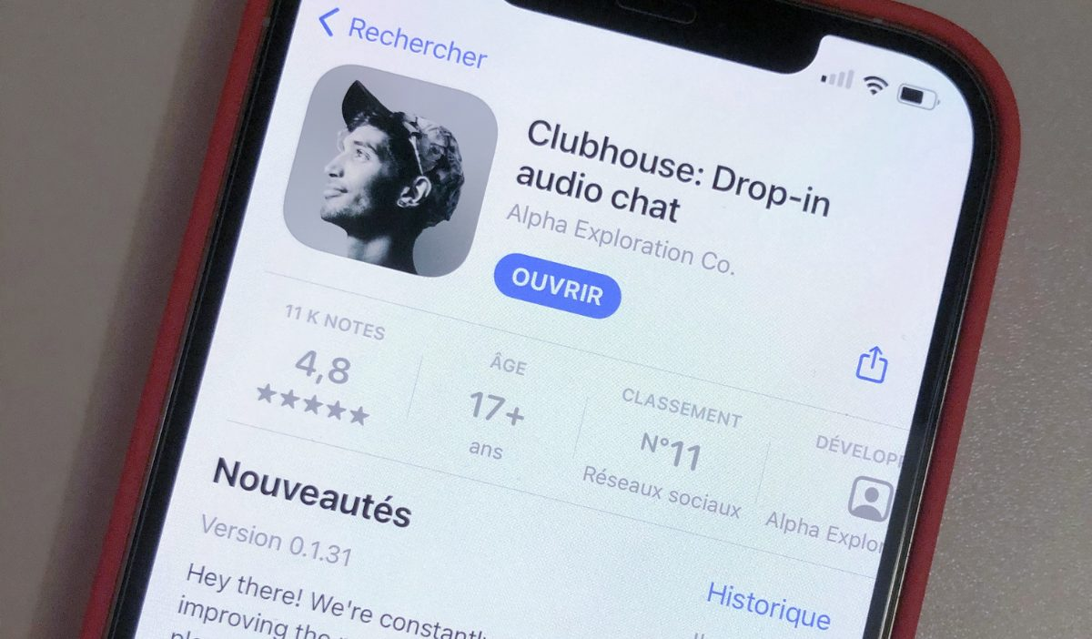clubhouse - Le nouveau réseau social de discussions orales : ClubHouse