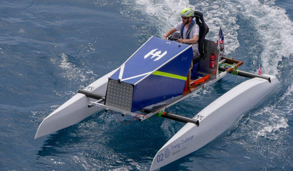 hydrovinci 2 - HydroVinci se prépare au Monaco Solar & Energy Boat Challenge