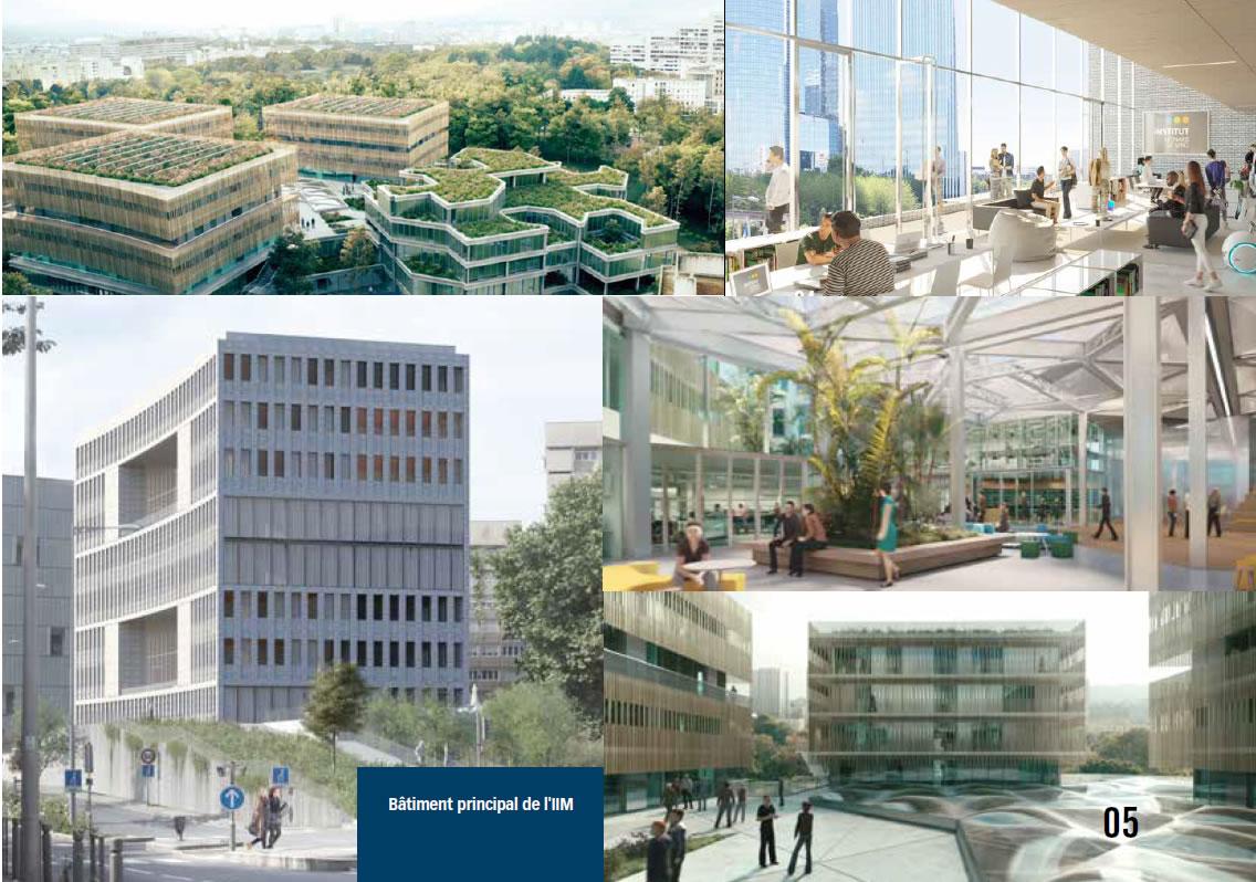 nouveau campus iim - Le campus