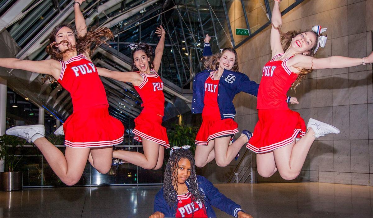 pompom - LeoPompom, l'association de cheerleading aux multiples victoires