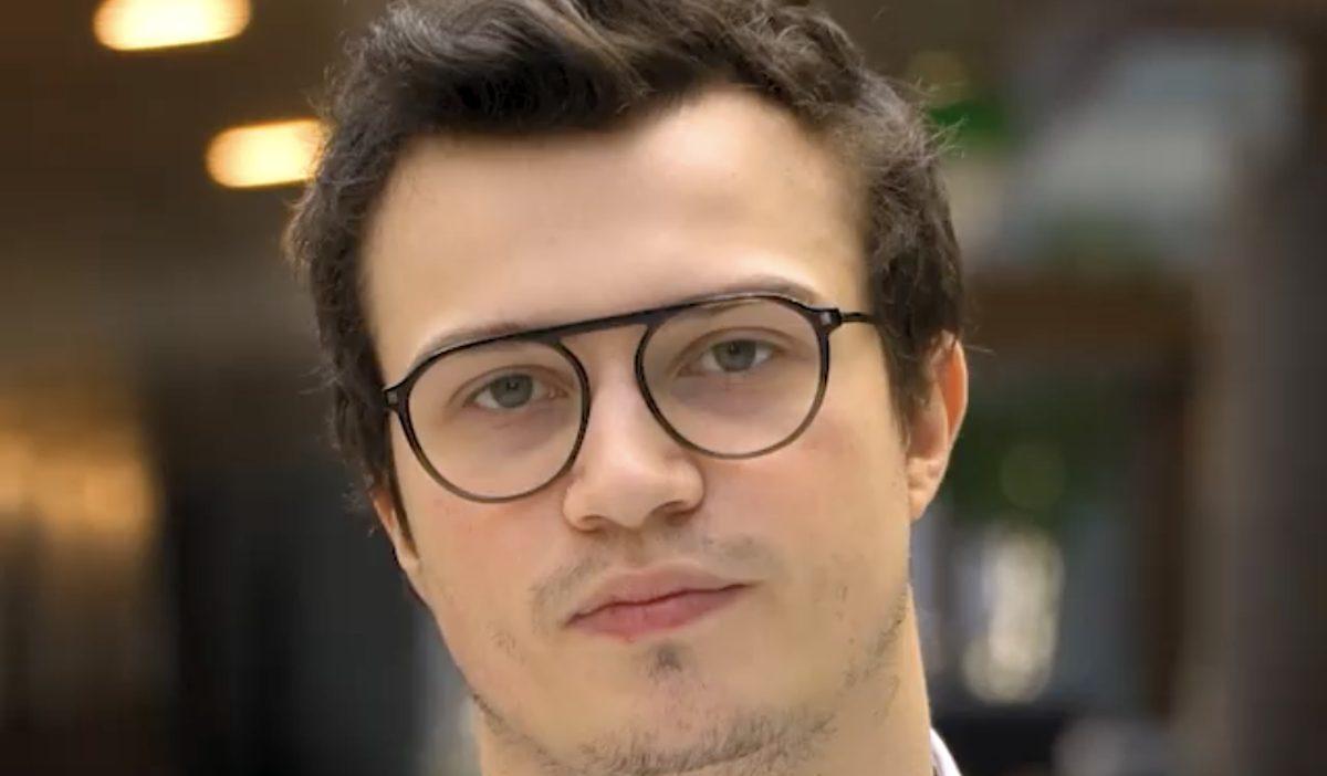 quentin - Le code, passion et travail pour Quentin, promo 2023, étudiant développeur