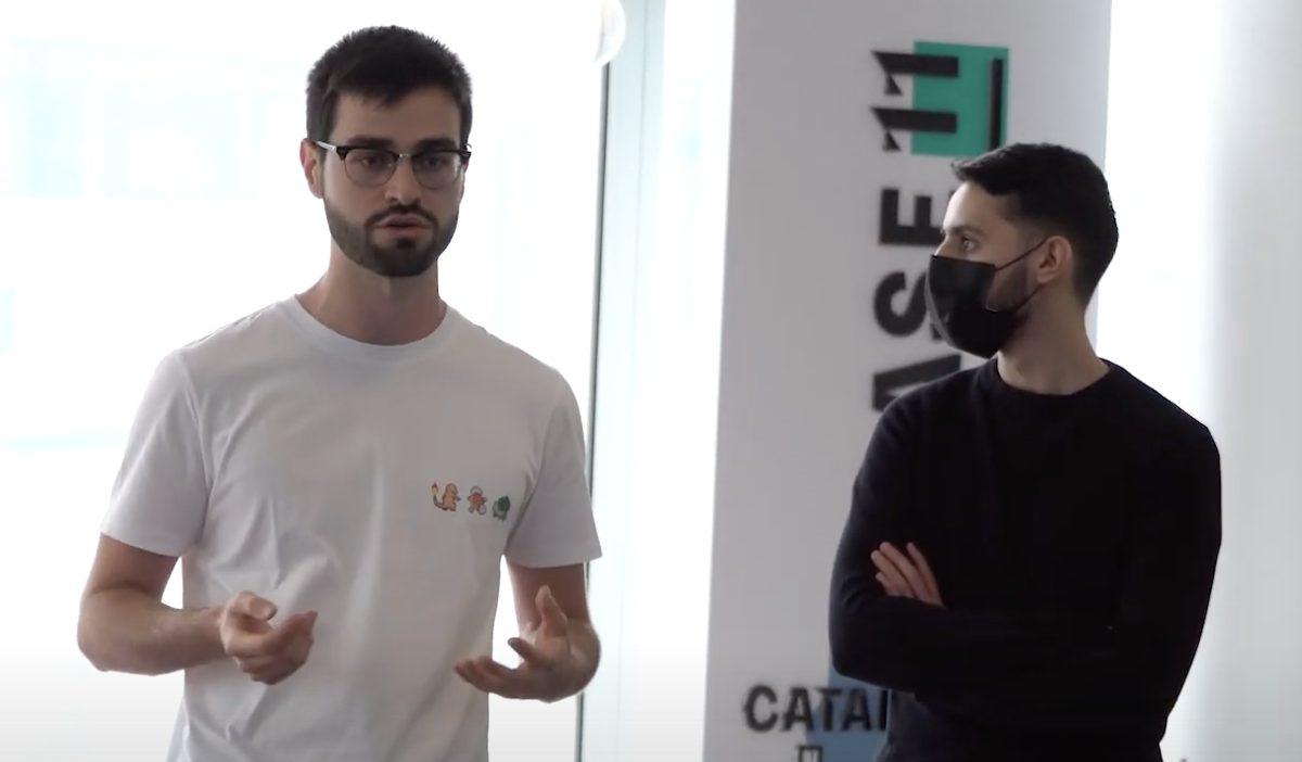 3 - Gwall, une startup fondée par des étudiants de l'IIM, pitchée au Catalyseur de La Défense