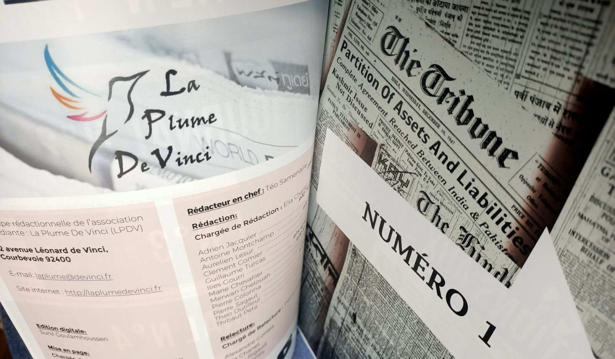 La Plume De Vinci - Un axe écriture et un axe journalisme pour l'association La Plume de Vinci