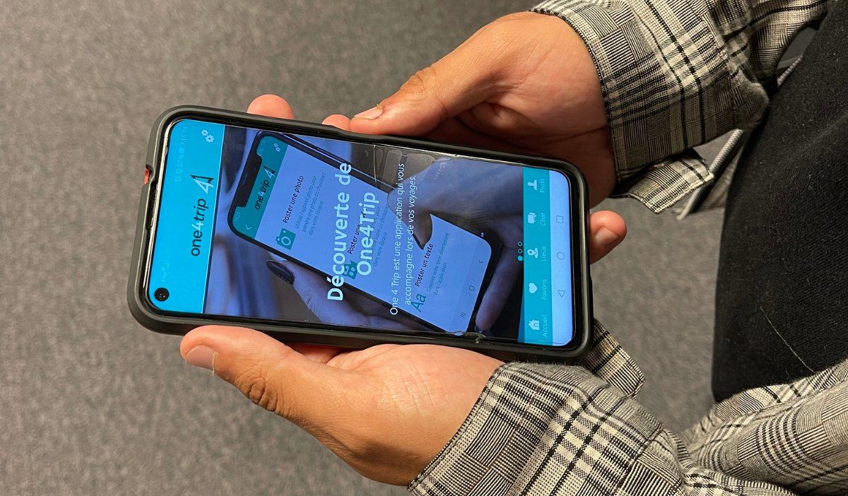 application One4Trip - One4Trip, un assistant de voyage connecté créé par des étudiants de la promo 2021