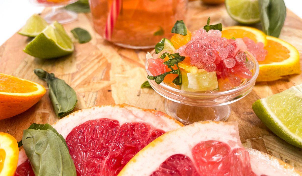 Cuisine moleculaire 2 - Les étudiants de la promo 2021 découvrent la révolution culinaire : la Food Tech