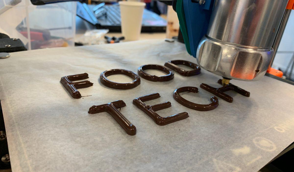 Impression 3D 2 - Les étudiants de la promo 2021 découvrent la révolution culinaire : la Food Tech