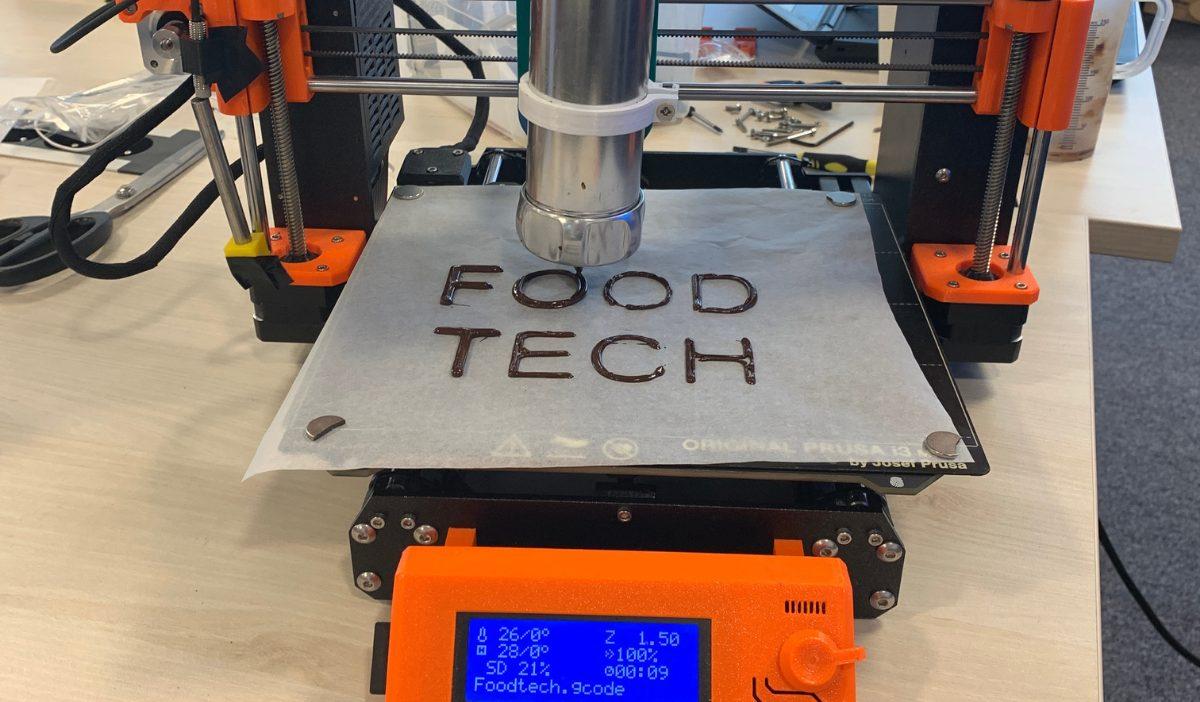 Impression 3D 4 - Les étudiants de la promo 2021 découvrent la révolution culinaire : la Food Tech