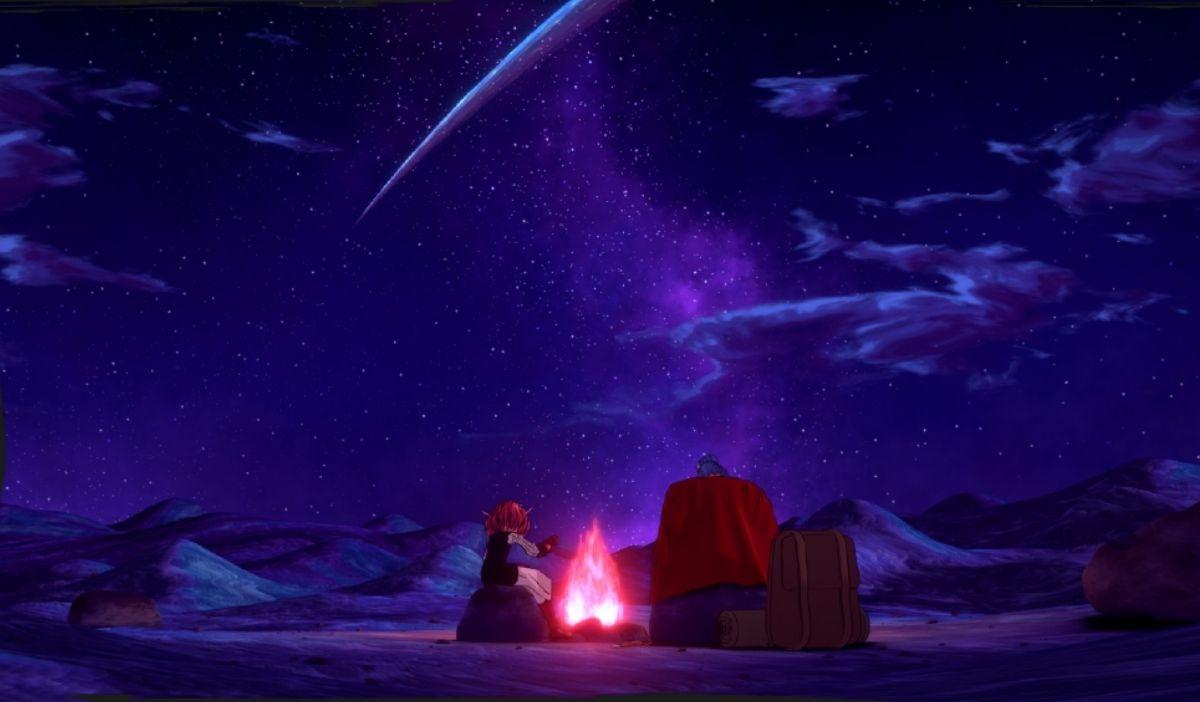 desert ciel etoile helck - Helck : Anime Ending, un projet BAP animation 3D de la promo 2024