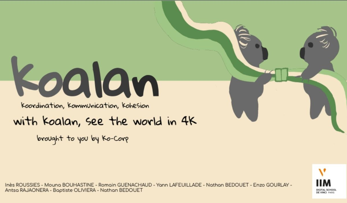 hackathon iim promo2026 koalan - Hackathon de rentrée : la promo 2026 de l'IIM déjà en action !