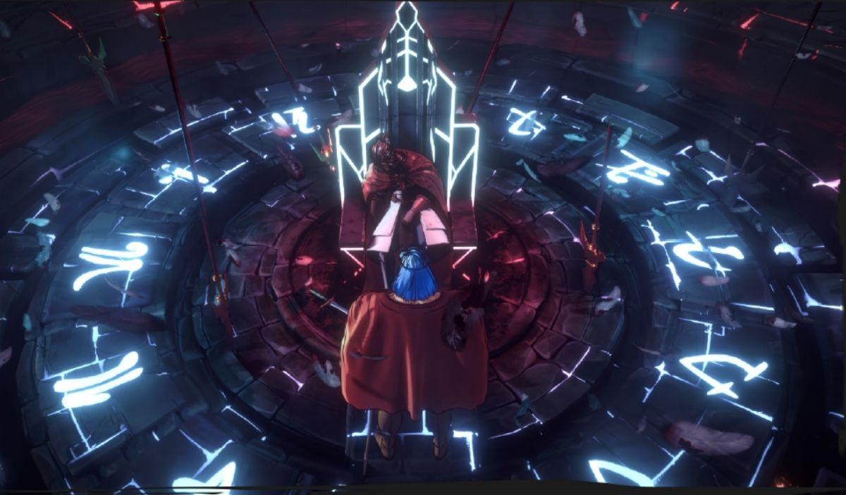 salle du trone helck - Helck : Anime Ending, un projet BAP animation 3D de la promo 2024