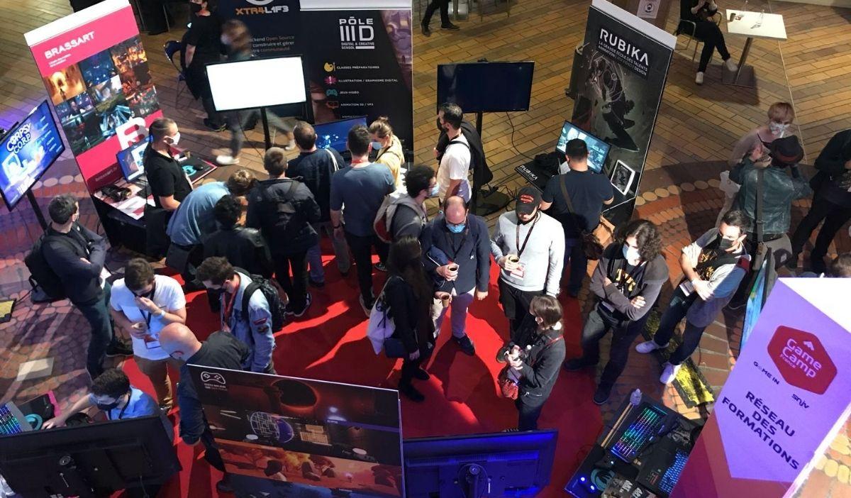 game camp jeux video lille iim - L'IIM au Game Camp France, le grand rassemblement des professionnels du jeu vidéo